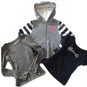 Abercrombie Kids Hoodie, Top, Sweater Bundle